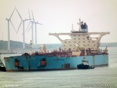 Glencore Charters Maersk VLCC to Ship Forties Crude to South Korea