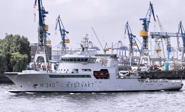 KV BARENTSHAV norwegian coast guard