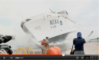 Marinette Marine Launches the Reuben Lasker Research Ship [VIDEO]