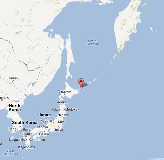 Kunashiri Island