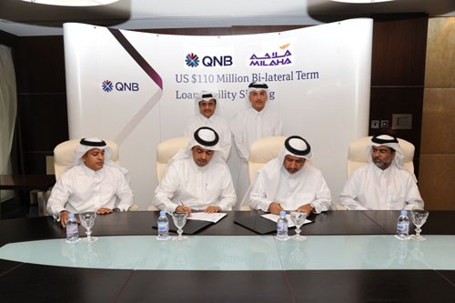 qatar national bank milaha ship financing