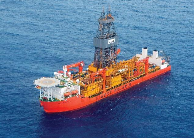West Polaris, ultra-deepwater drillship. Photo: Seadrill