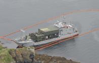 US Army Ship Monterrey Aground In Alaska