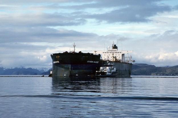 exxon valdez aground bligh reef