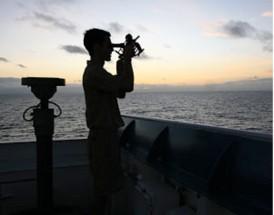 sextant ship mariner navigation navigator