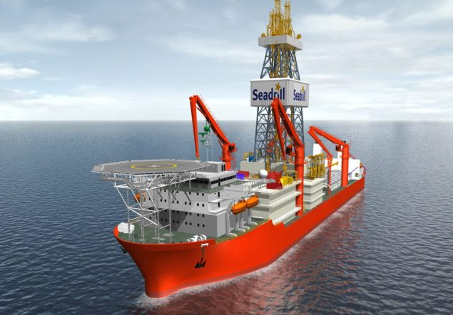 West Auriga seadrill drillship