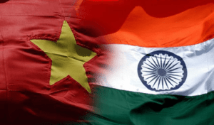 vietnam indian flags india petrovietnam ongc