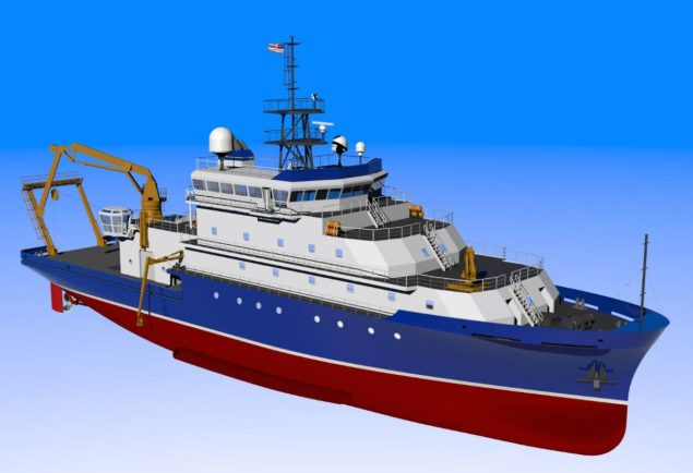 agor 27 woods hole oceanographic research vessel