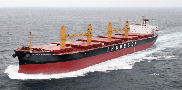 thoresen bulk carrier thor friendship
