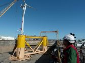 Portugal Installs First Floating Offshore Wind Turbine [VIDEO]