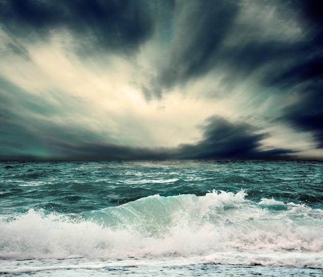 ocean waves sky environment