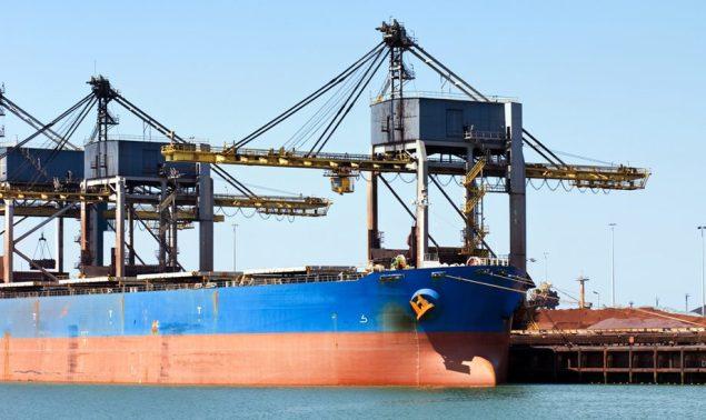 iron ore bulk carrier