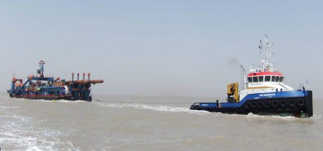 dms dunnock tugboat damen acta marine