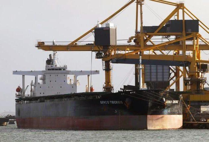 Genco Tiberius shipping capesize