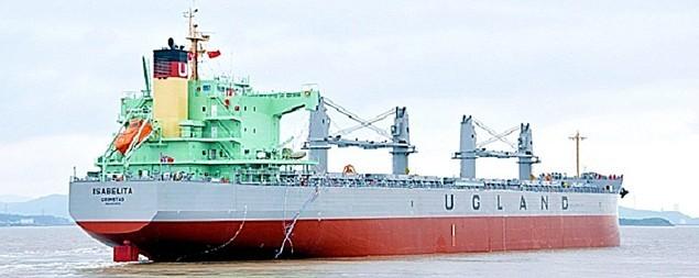 isabelita ugland shipping supramax bulk carrier
