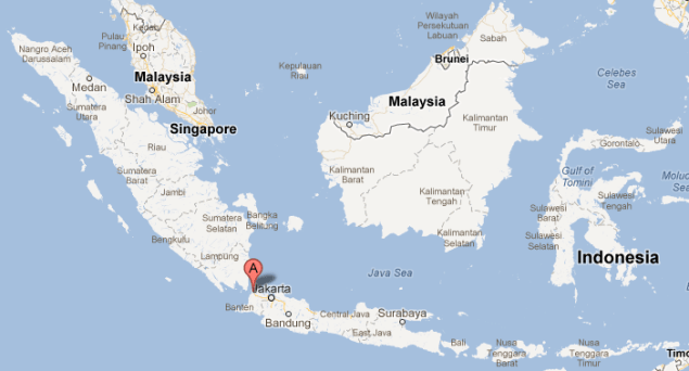 ship collision sunda strait merak indonesia