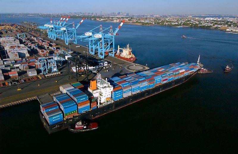 Hanjin vessel APM Terminals Port Elizabeth containership