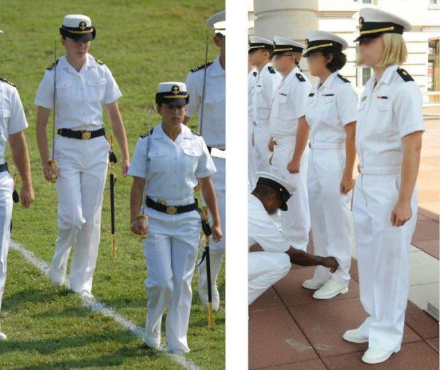 usna combination cover navy uniform initiative