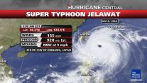 Super Typhoon Jelawat Complicating Standoff Over Disputed Islands