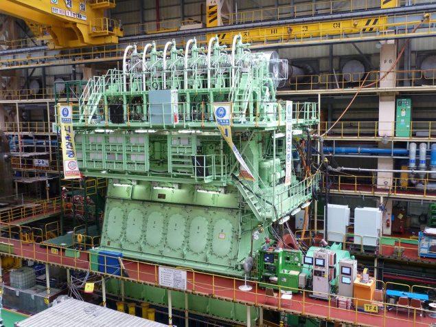 MAN B&W 6S80ME-C9 engine hyundai