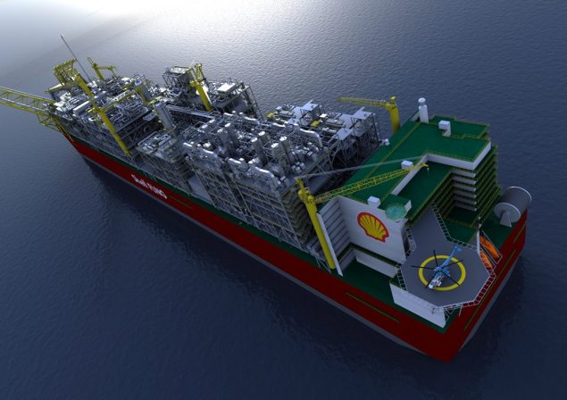 prelude flng shell