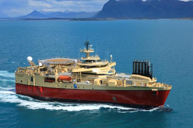 PGS Ramform Sterling seismic vessel