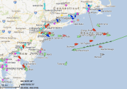 MOL Container Ship Says Screw Hurricane Sandy and Puts the Throttle Down [UPDATE 2]