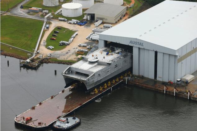 usns choctaw county austal shipbuilding jhsv