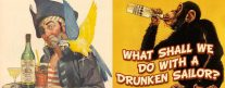 Maritime Monday for October 29th, 2012: What Shall We Do With A Drunken Sailor?