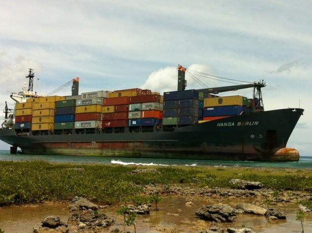 hansa berlin aground