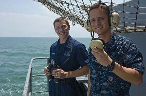 lookout ship watchstander Malaysian fisherman uss john c. stennis Seaman Abel Cardona