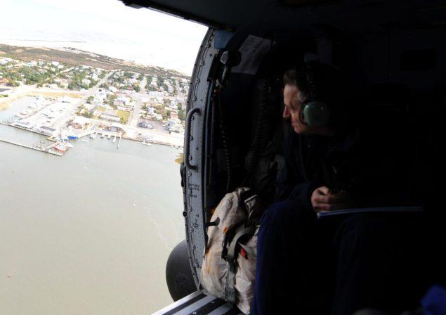 US Coast Guard Vice Admiral Robert C. Parker sandy new jersey