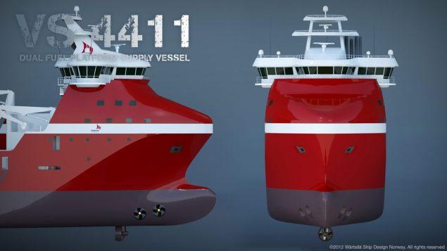 vs 4411 Wärtsilä siem offshore psv lng