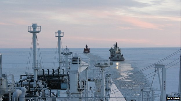 dynagas icebreaker lng carrier northern sea route