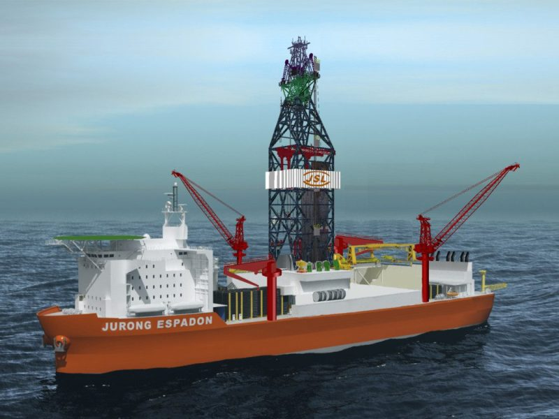 Espadon Jurong Drillship Design
