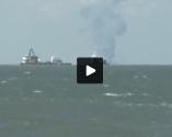TV Crew Captures Deadly Platform Explosion on Video