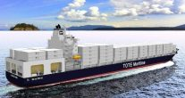 TOTE's LNG-Powered Containerships Take Home 'Next Generation Shipping' Award
