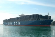 CMA CGM Marco Polo Invades European Ports