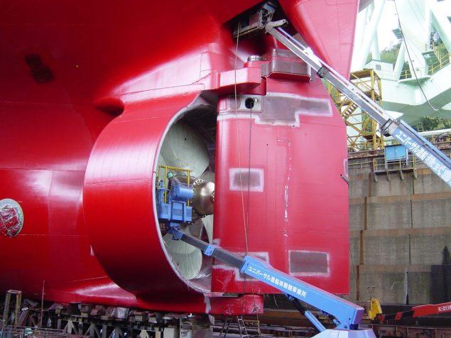 rolls royce ice-class propeller kamewa