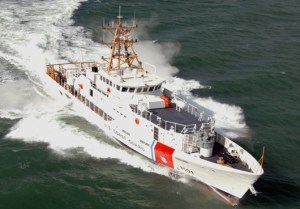 Robert Yered, the fourth vessel in the Coast Guard's Sentinel-class Fast Response Cutter (FRC) recapitalization project, was delivered to the Coast Guard November 17 in Key West, Fla. US Coast Guard Photo