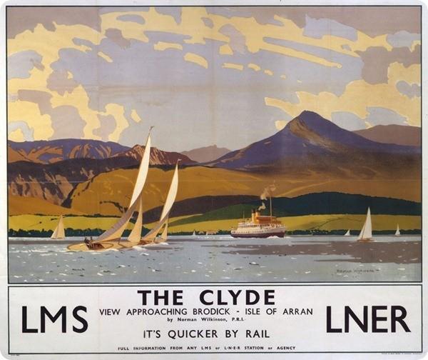 ÔThe ClydeÕ, LMS/LNER poster, 1923-1947.