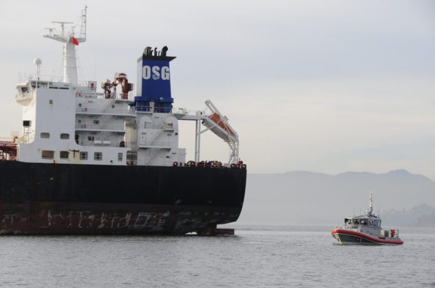 Overseas Reymar osg panamax tanker allision san francisco