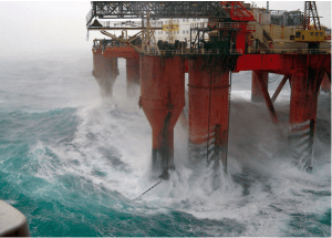 borgholm dolphin north sea storm accommodation rig