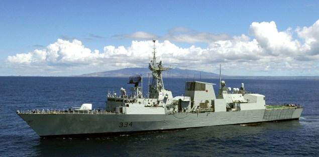 Canadian frigate HMCS Regina (FFH 334)