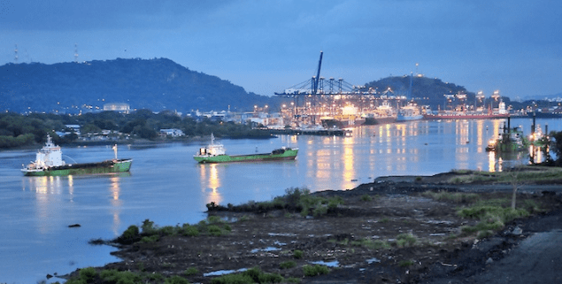 dredging international panama canal