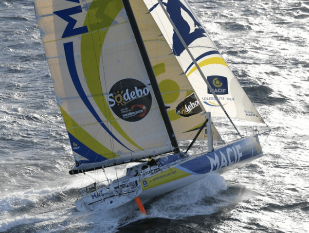 Francois Gabart macie vendee globe