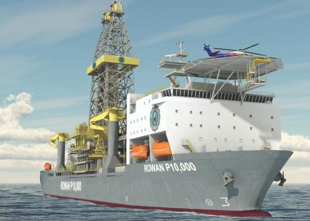 rowan deepwater drillships