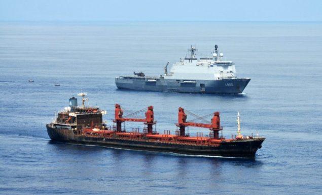 HNLMS ROTTERDAM MV ORNA