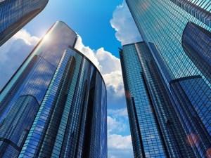 banks skyscraper shutterstock