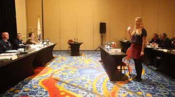 Anna Sprague - the youngest member of Bounty's crew - testifies on Day 7 of the hearings.